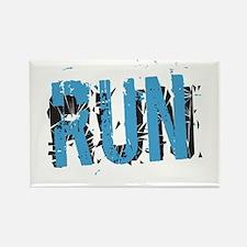Grunge Run Magnets