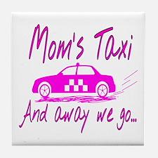 Mom's Taxi Tile Coaster