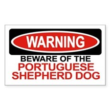 PORTUGUESE SHEPHERD DOG Rectangle Decal