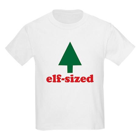 Christmas Elf Sized Kids Light T-Shirt