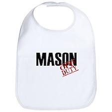 Off Duty Mason Bib