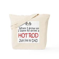 WIGU Hot Rod Dad Tote Bag