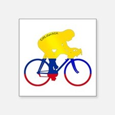 Colombian Cycling Sticker