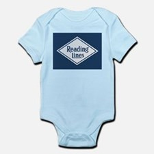 Reading Railroad Logo Blue Body Suit