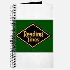 Reading Railroad Logo Green Journal