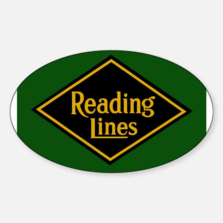Reading Railroad Logo Green Decal