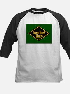 Reading Railroad Logo Green Baseball Jersey