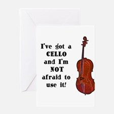 I've Got a Cello Greeting Cards