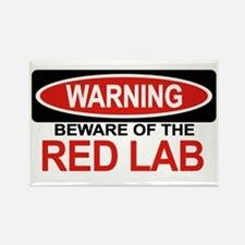 RED LAB Rectangle Magnet