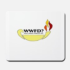 What Would Florence Do? Mousepad