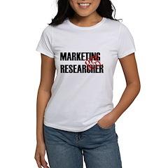 Off Duty Marketing Researcher Women's T-Shirt