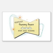 Instant Respiratory Therapist Sticker (Rectangular