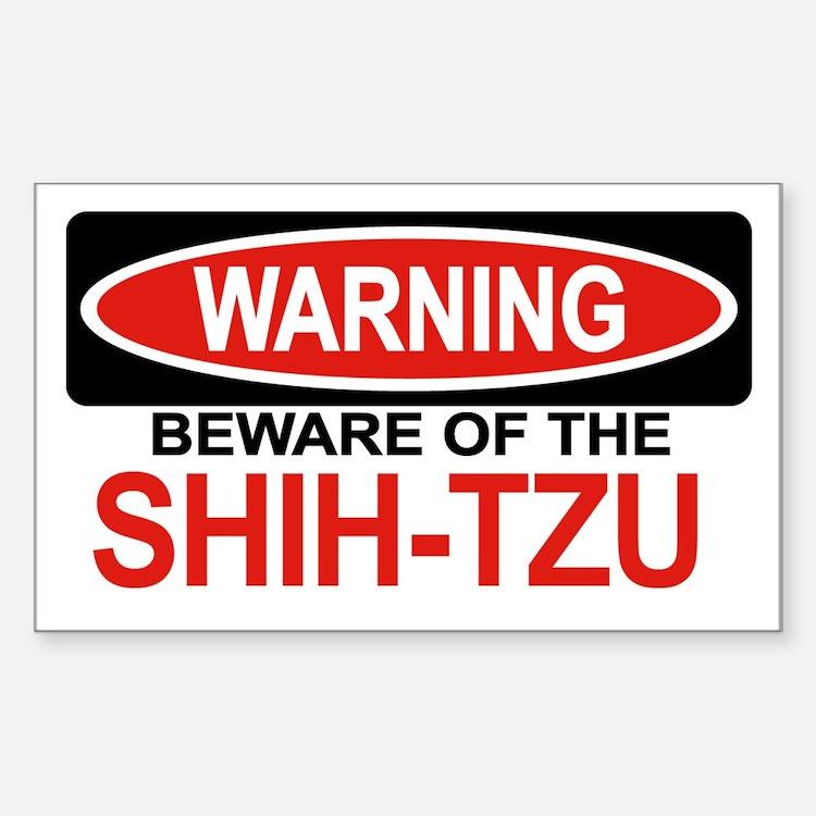 SHIH-TZU Rectangle Decal