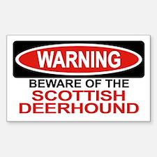 SCOTTISH DEERHOUND Rectangle Decal