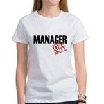 Off Duty Manager Women's T-Shirt