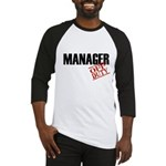 Off Duty Manager Baseball Jersey