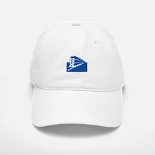 blue train Baseball Baseball Cap