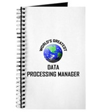 World's Greatest DATA PROCESSING MANAGER Journal