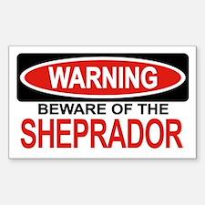 SHEPRADOR Rectangle Decal