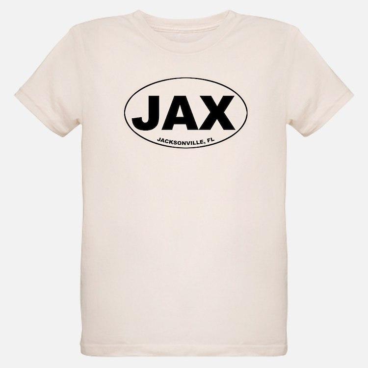 JAX (Jacksonville, FL) Ash Grey T-Shirt