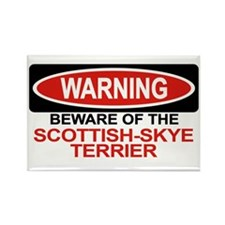 SCOTTISH-SKYE TERRIER Rectangle Magnet