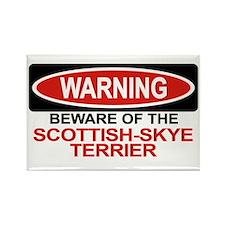 SCOTTISH-SKYE TERRIER Rectangle Magnet (100 pack)