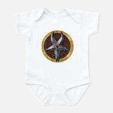 3-D Horned God Infant Bodysuit