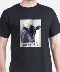 Cow Art Heifer Princess T-Shirt