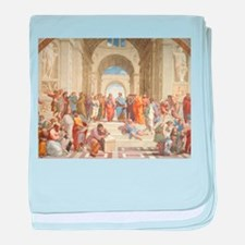 The School of Athens baby blanket