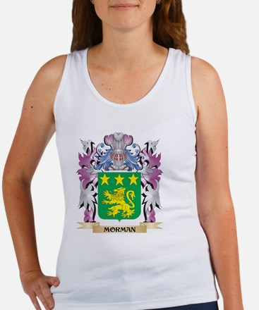 Morman Coat of Arms - Family Crest Tank Top