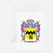 Morris Coat of Arms - Family Crest Greeting Cards