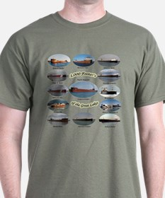 1,000 Foot Freighters On The Great Lake T-Shirt