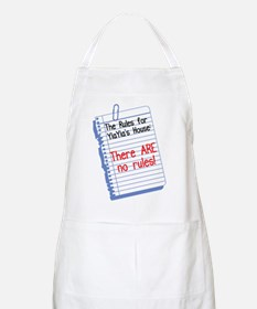 No Rules at YiaYia's House BBQ Apron