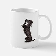 Black Toy Poodle Dog Mugs