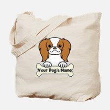 Personalized Japanese Chin Tote Bag