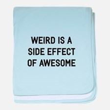 Weird Side Effect baby blanket