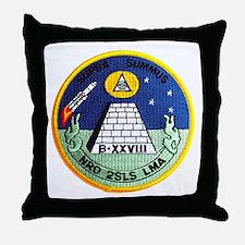 NROL-11 Launch Throw Pillow