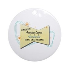 Instant Recording Engineer Ornament (Round)