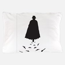 Jack the Ripper with Crows Pillow Case