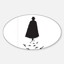 Jack the Ripper with Crows Decal