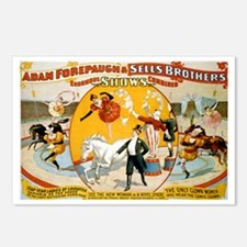 Enormous Shows Combined Postcards (Package of 8)