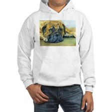 Waiting-Bullmastiff Jumper Hoody