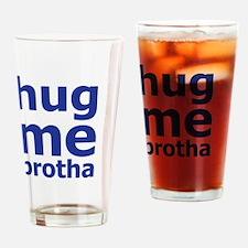 Cute Brotha Drinking Glass