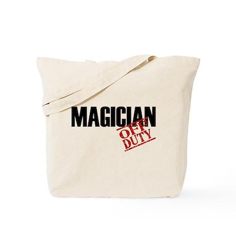 Off Duty Magician Tote Bag