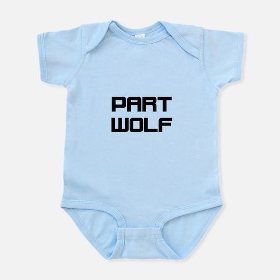 Part Wolf Body Suit