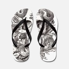 Cute Evil Flip Flops
