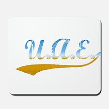 U.A.E. beach flanger Mousepad