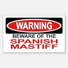 SPANISH MASTIFF Rectangle Decal