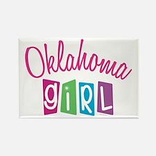 OKLAHOMA GIRL! Rectangle Magnet (10 pack)