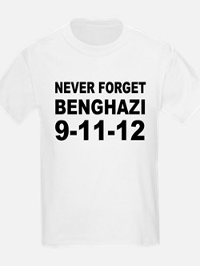Benghazi Never Forget T-Shirt